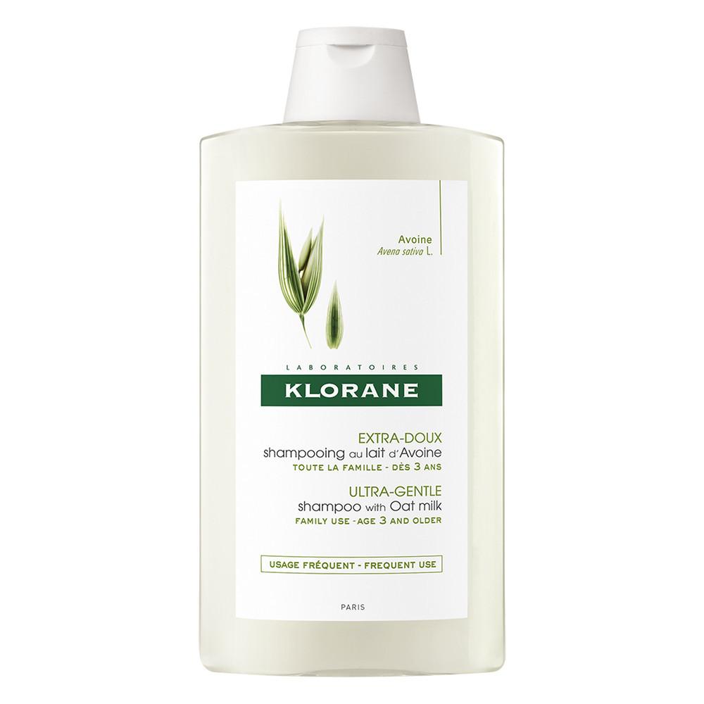 Sampon cu lapte de ovaz pentru utilizare frecventa, 400 ml, Klorane