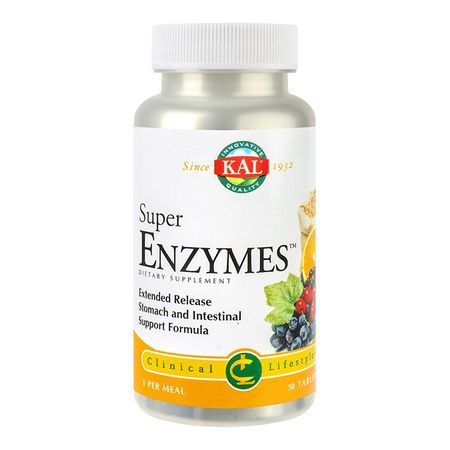 Super Enzymes, 30 capsule, Secom imagine produs 2021