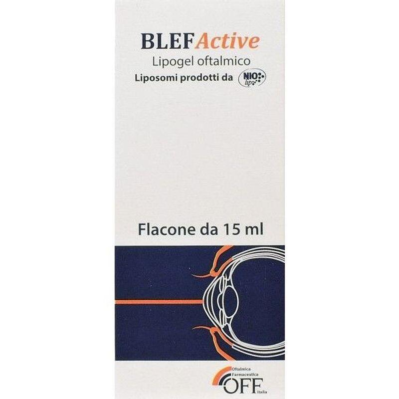 BlefActive lipogel oftalmic, 15 ml, OFF Italia imagine produs 2021