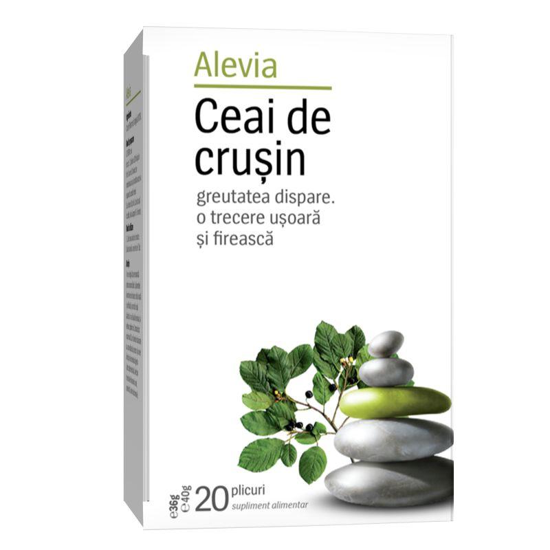 Ceai de crusin, 20 plicuri, Alevia imagine produs 2021
