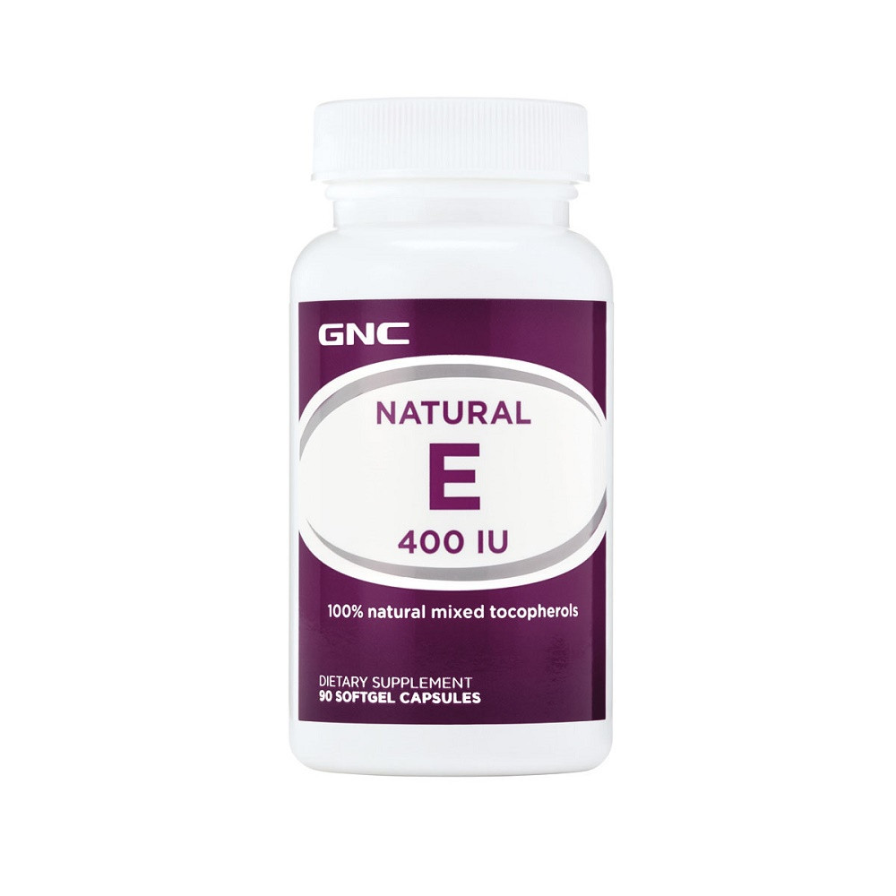 Vitamina E Naturala 400UI, 90 capsule moi, GNC drmax poza