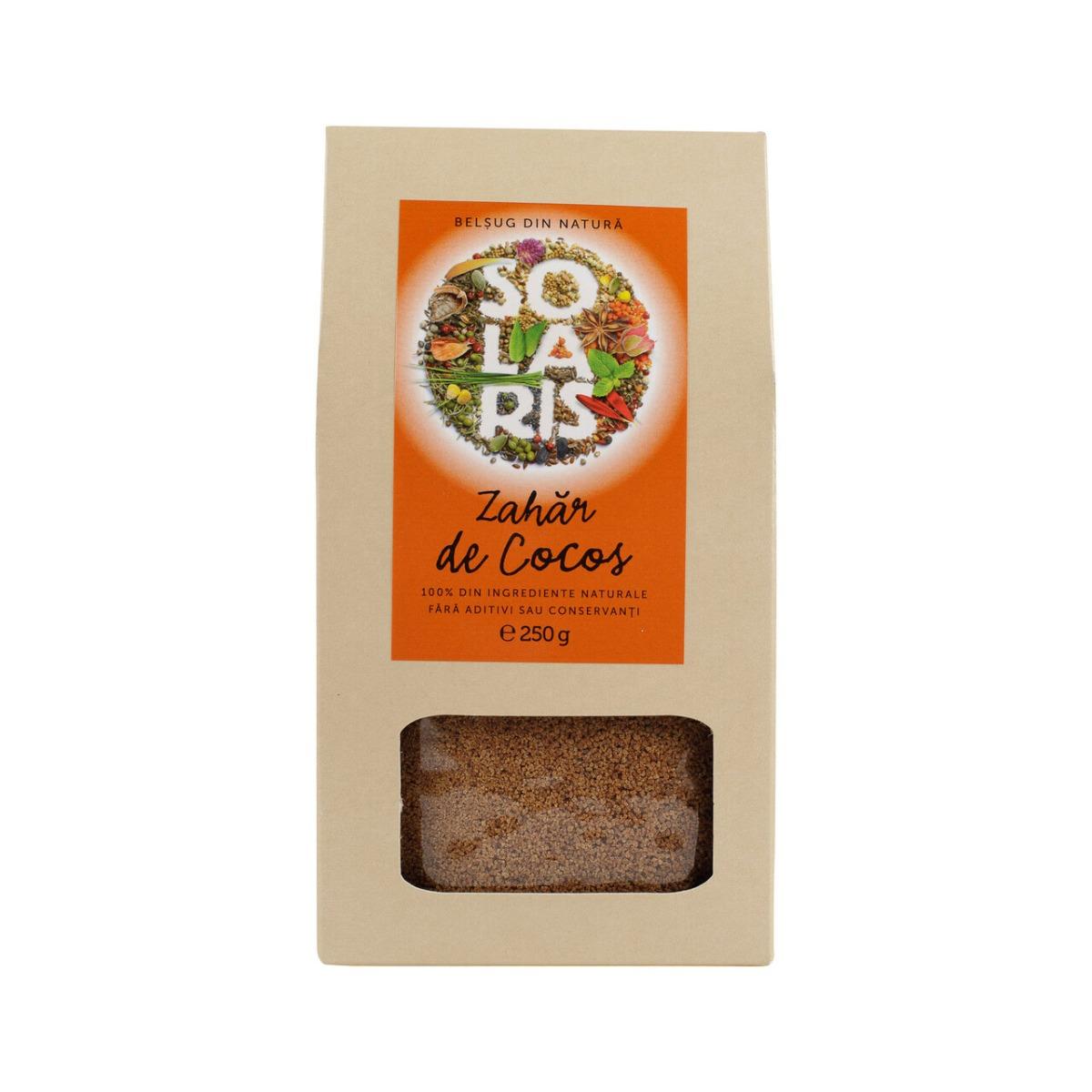 Zahar de cocos, 250g, Solaris drmax.ro