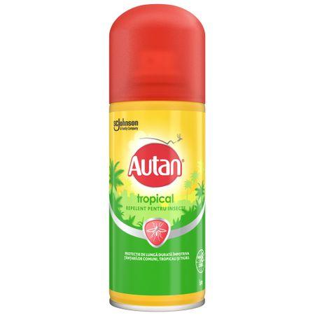Spray Tropical impotriva tantarilor, 100ml, Autan