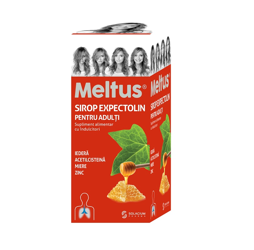 Meltus sirop Expectolin pentru adulti, 100 ml, Solacium imagine produs 2021