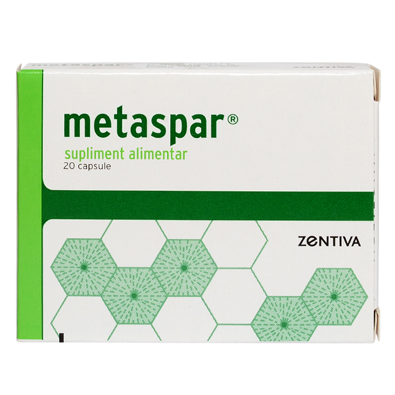 Metaspar, 20 capsule, Zentiva imagine produs 2021