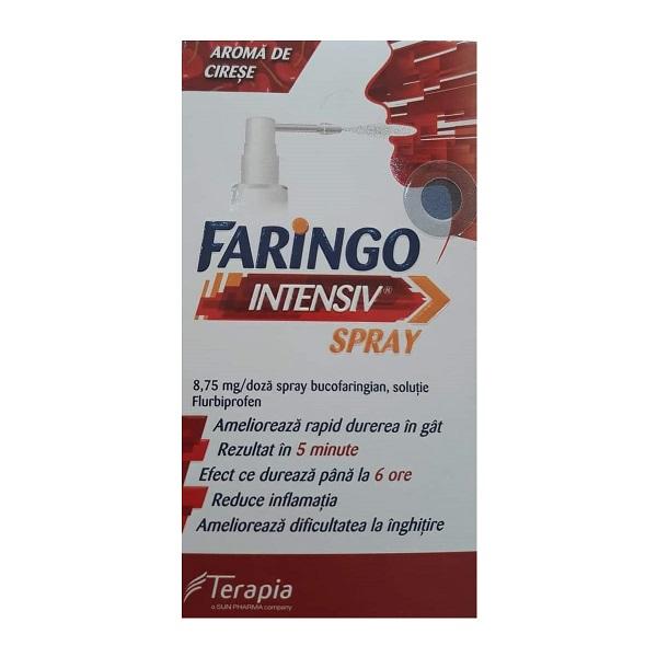 Intensiv Spray 8,75mg/doza, 15ml, Faringo imagine produs 2021