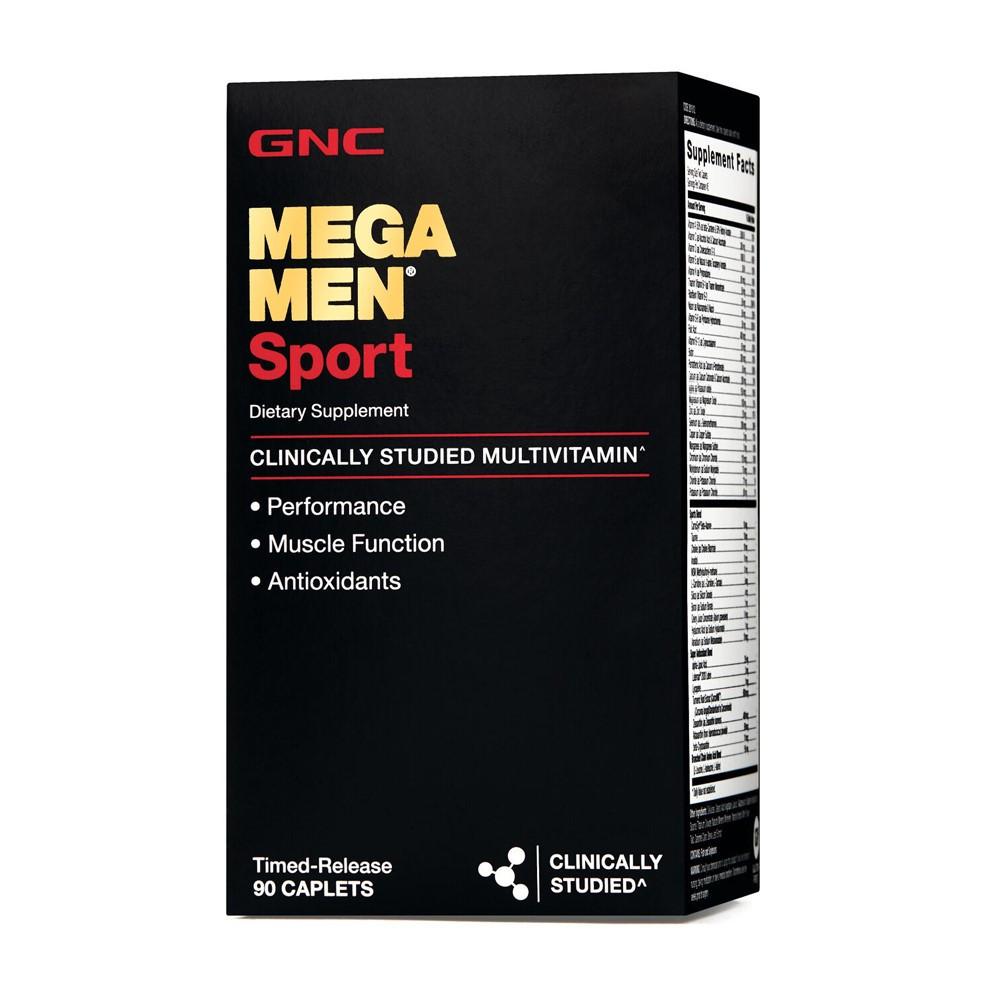Mega Men Sport, 90 tablete, GNC drmax poza