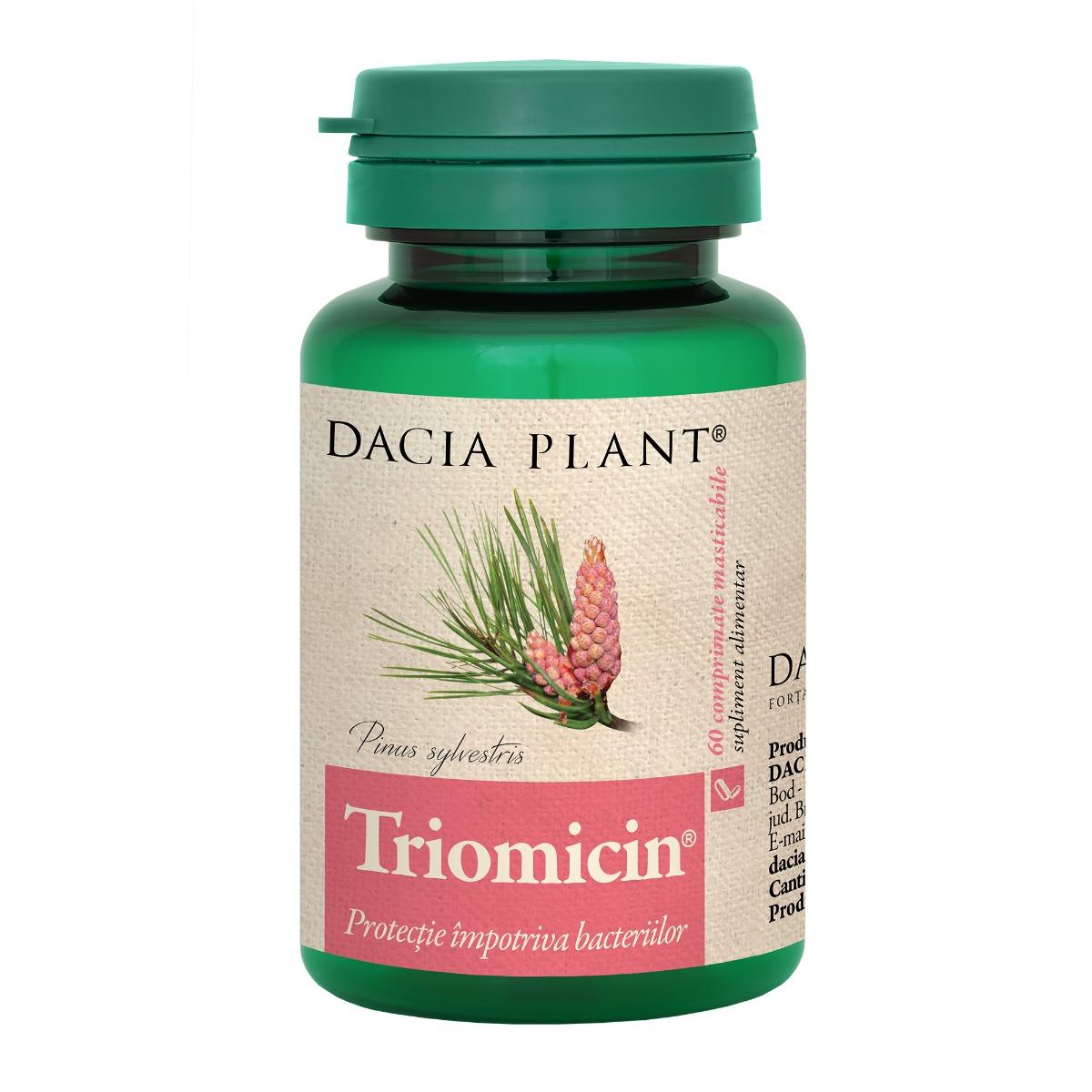 Triomicin, 60 comprimate, Dacia Plant drmax.ro