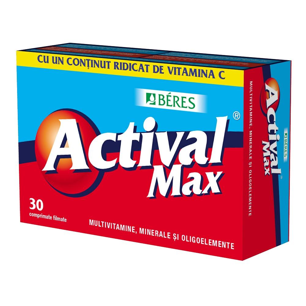 Actival Max, 30 comprimate, Beres drmax.ro