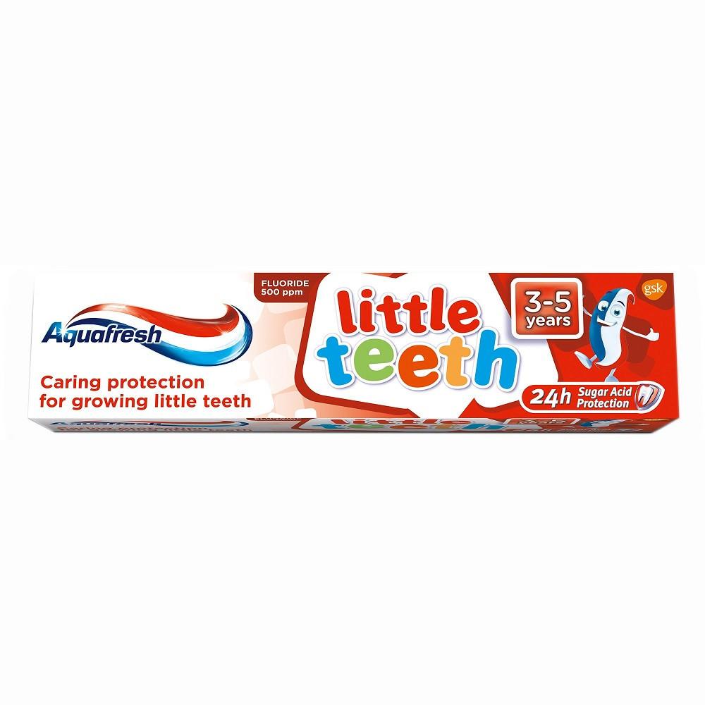 Pasta de dinti pentru copii 3-5 ani, 50 ml, Aquafresh imagine produs 2021