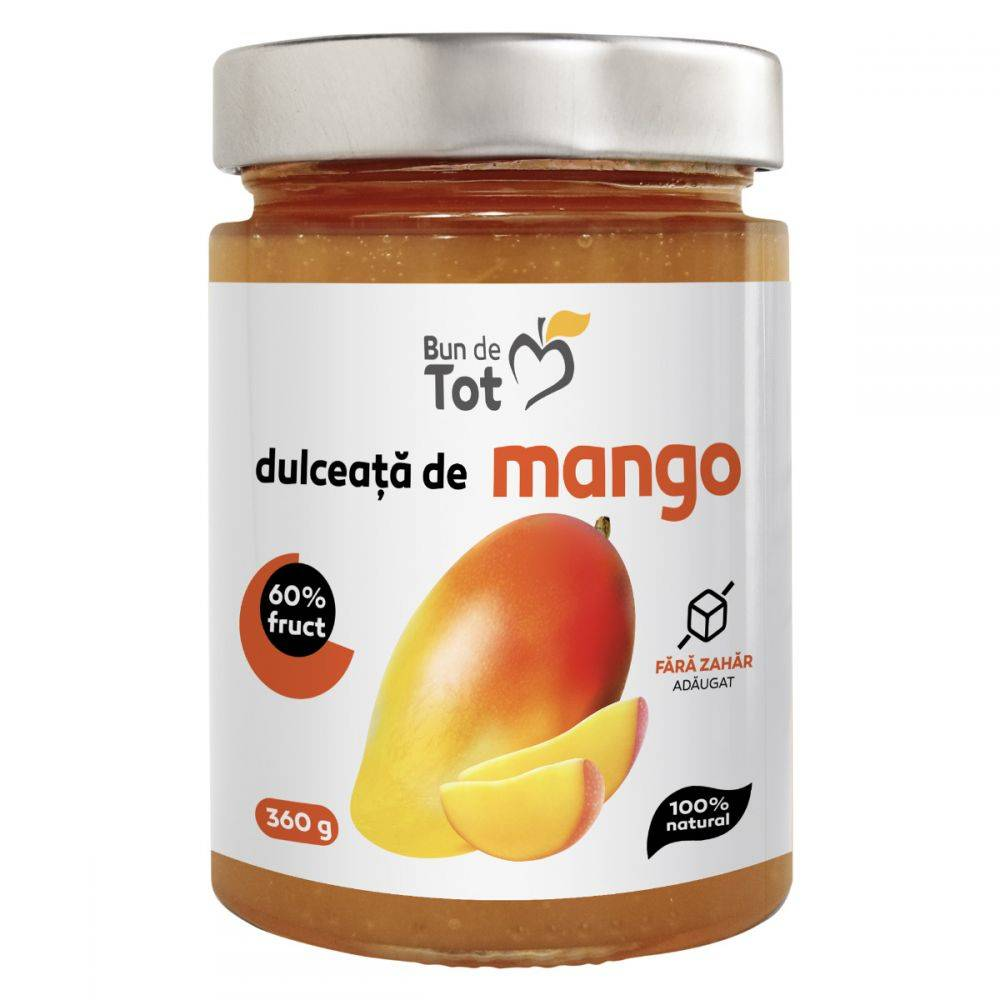 Dulceata de mango, 430g, Dacia Plant imagine 2021 Dacia Plant