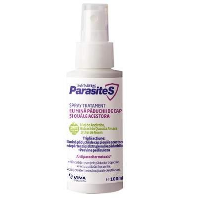 Spray tratament impotriva paduchilor Parasites, 100ml, Viva Pharma la preț mic imagine