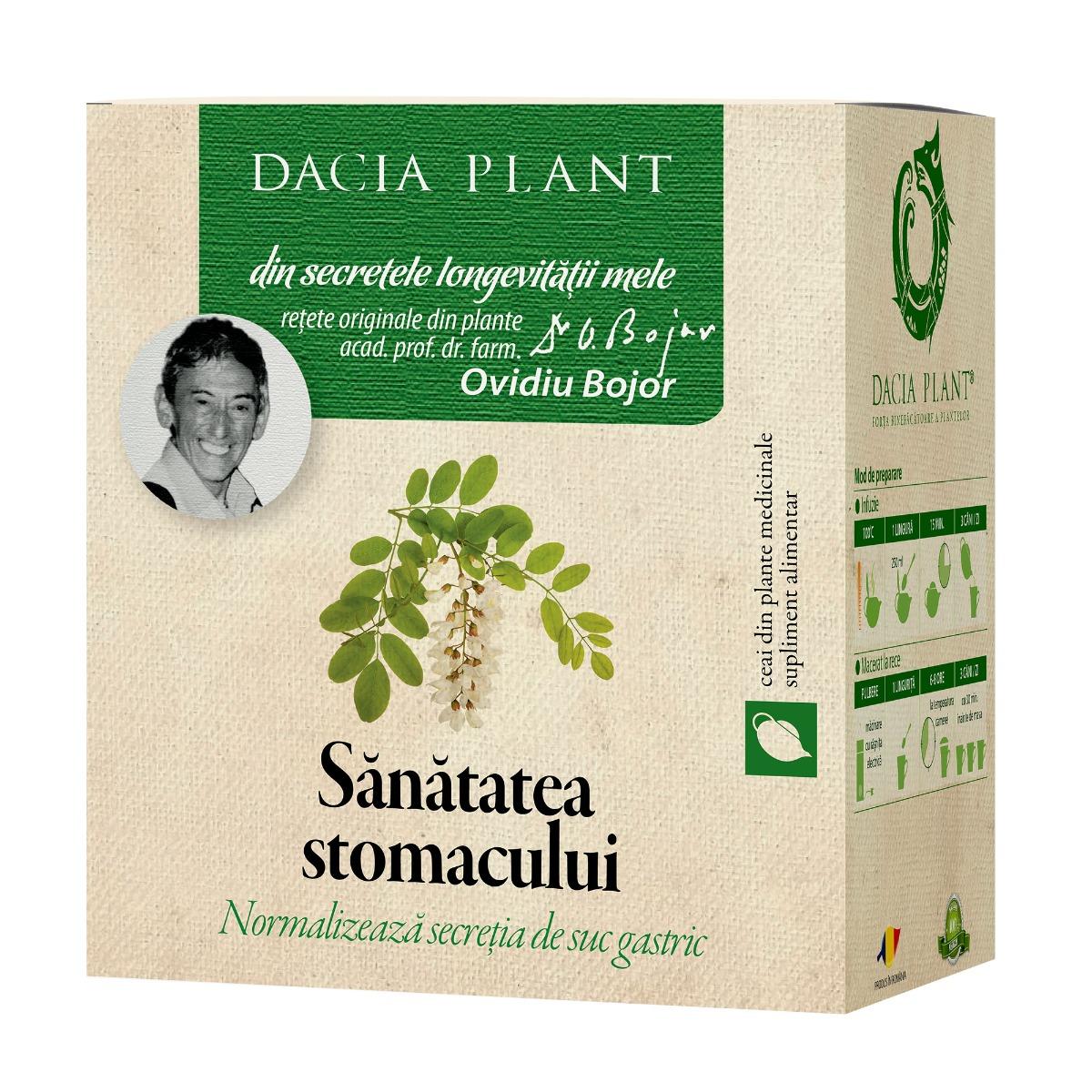 Ceai sanatatea stomacului, 50g, Dacia Plant drmax.ro