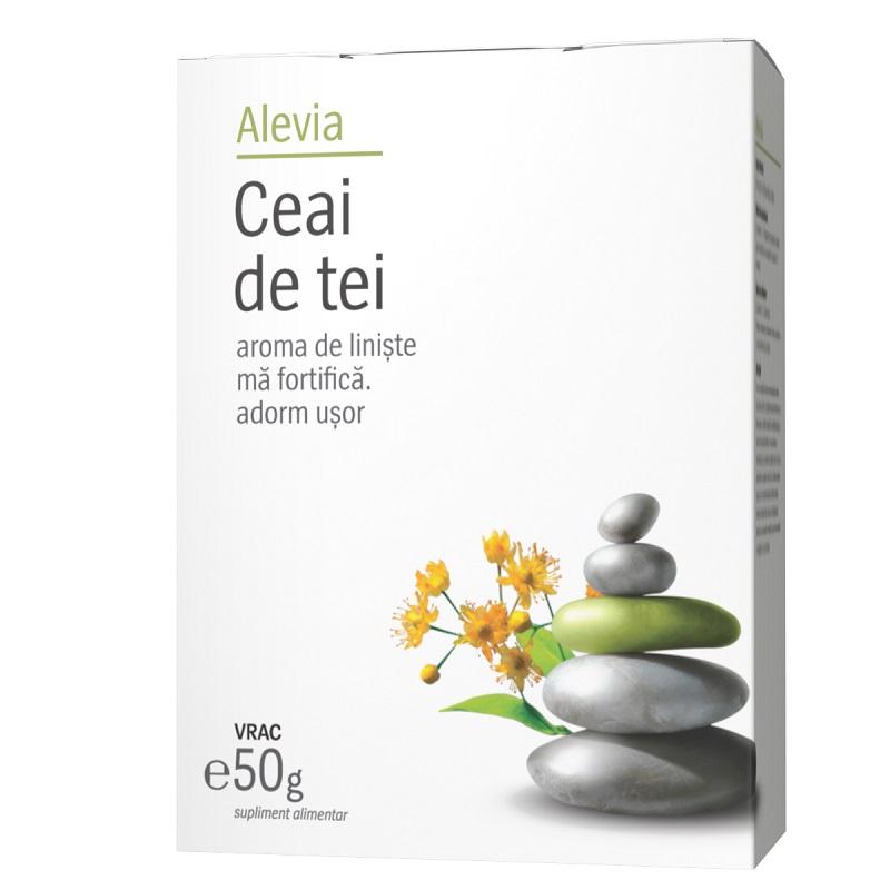 Ceai de tei, 40g, Alevia drmax.ro