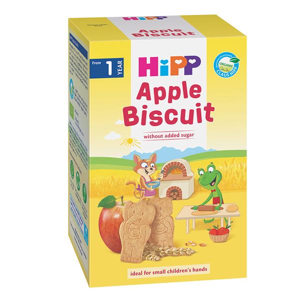 Biscuiti Bio cu mar pentru copii, 1-3 ani, 150 g, Hipp drmax.ro