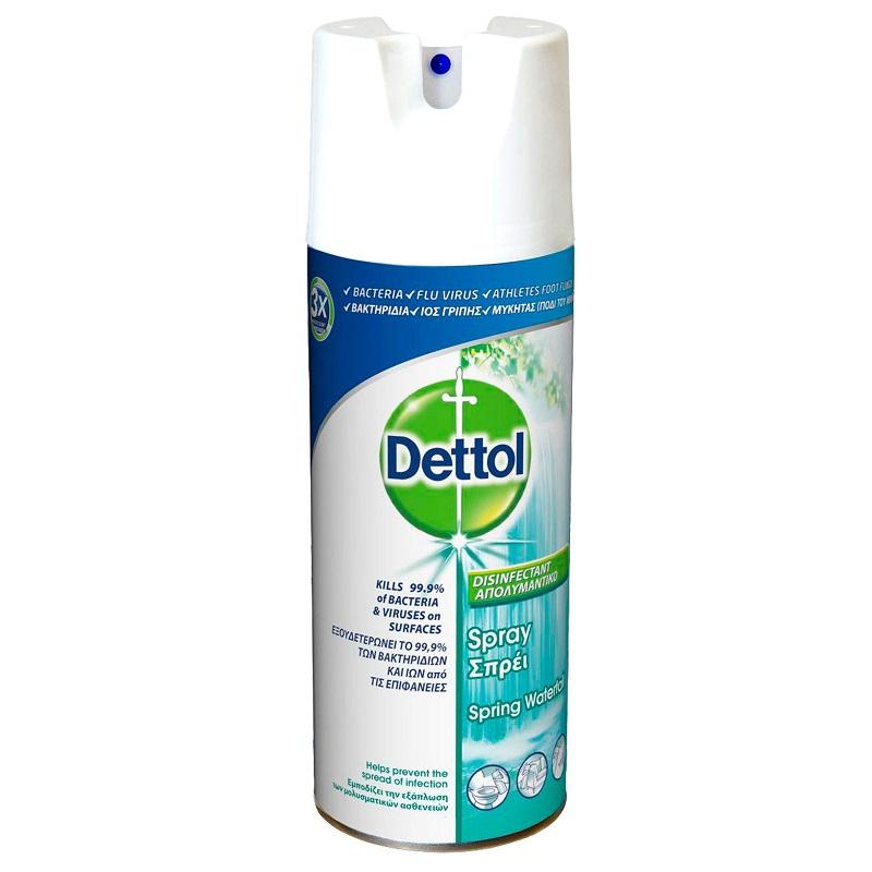 Spray dezinfectant Spring Waterfall, 400ml, Dettol drmax poza