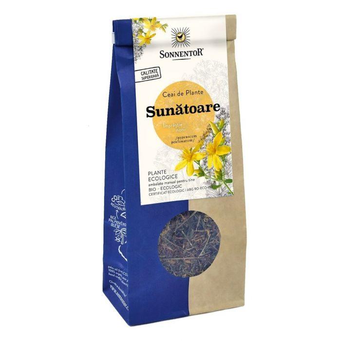 Ceai Bio Sunatoare (Hypericaum perforatum), 50g, Sonnentor la preț mic imagine