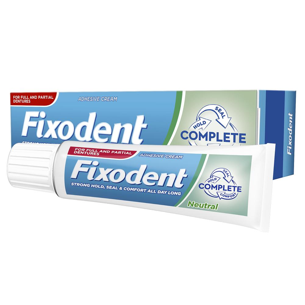 Crema adeziva pentru proteze, 40 ml, Fixodent imagine produs 2021