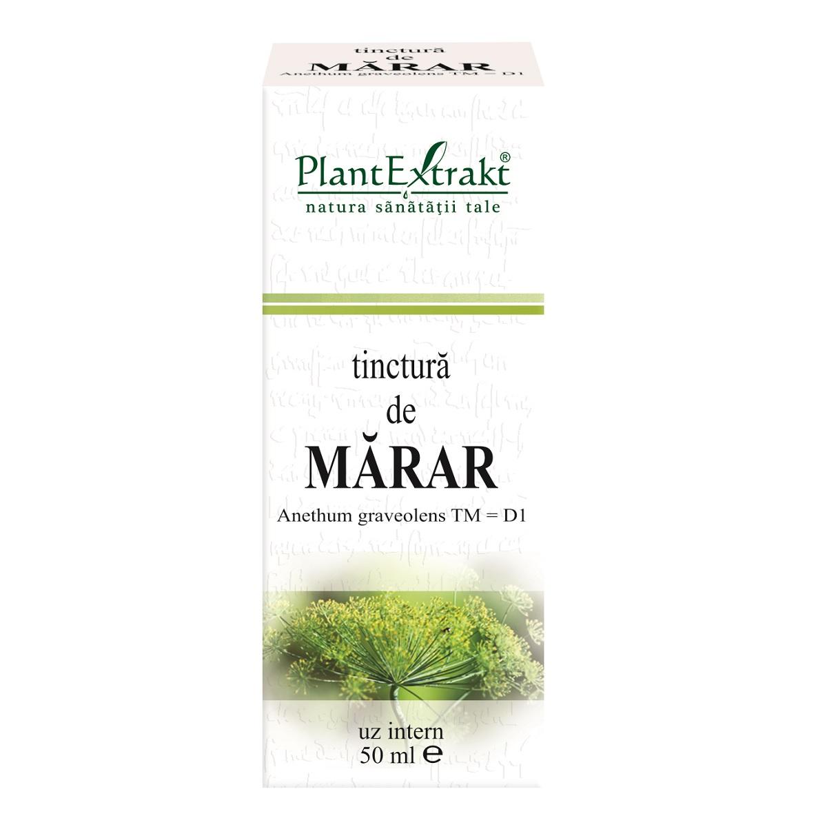 Tinctura de Marar, 50ml, PlantExtrakt imagine produs 2021