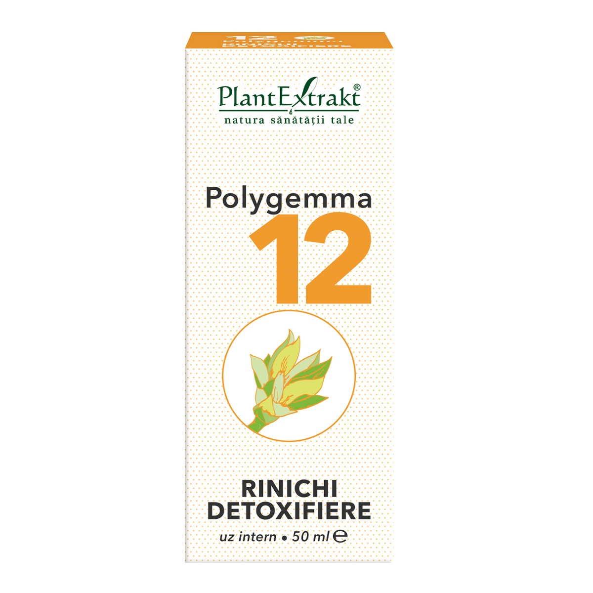 Polygemma 12, 50ml, Plant Extrakt imagine produs 2021