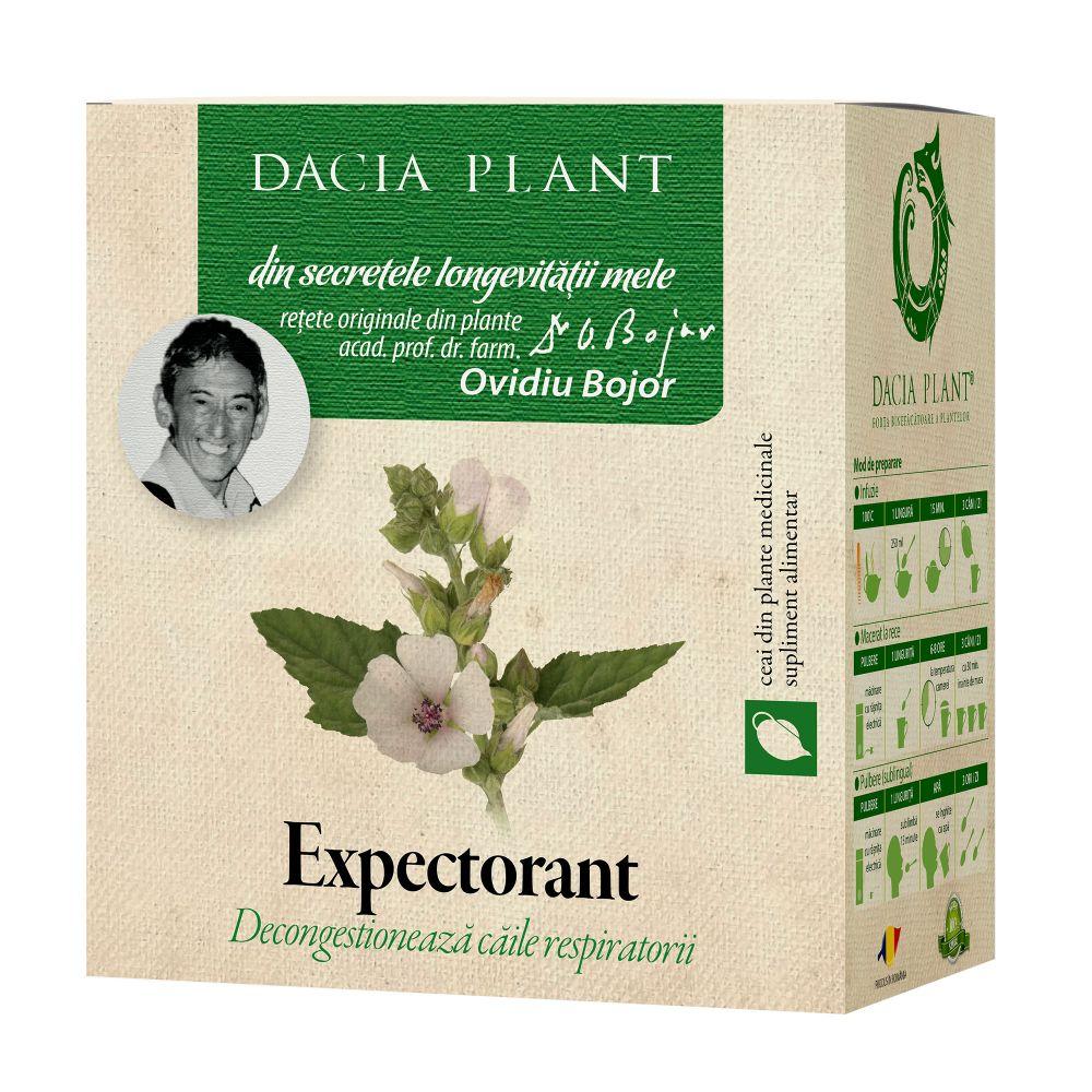 Ceai expectorant, 50g, Dacia Plant drmax.ro