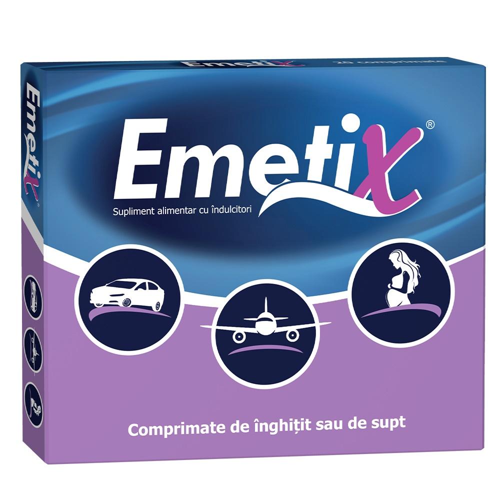 Emetix, 20 comprimate, Fiterman imagine produs 2021