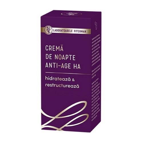 Crema de noapte Anti-Age HA, 50ml, Fiterman drmax.ro
