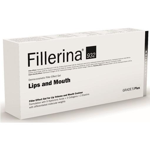 Gel cu efect de umplere pentru buze si conturul buzelor 952 Grad 5 Plus, 7ml, Fillerina drmax.ro