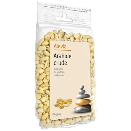 Arahide crude, 150 g, Alevia imagine produs 2021