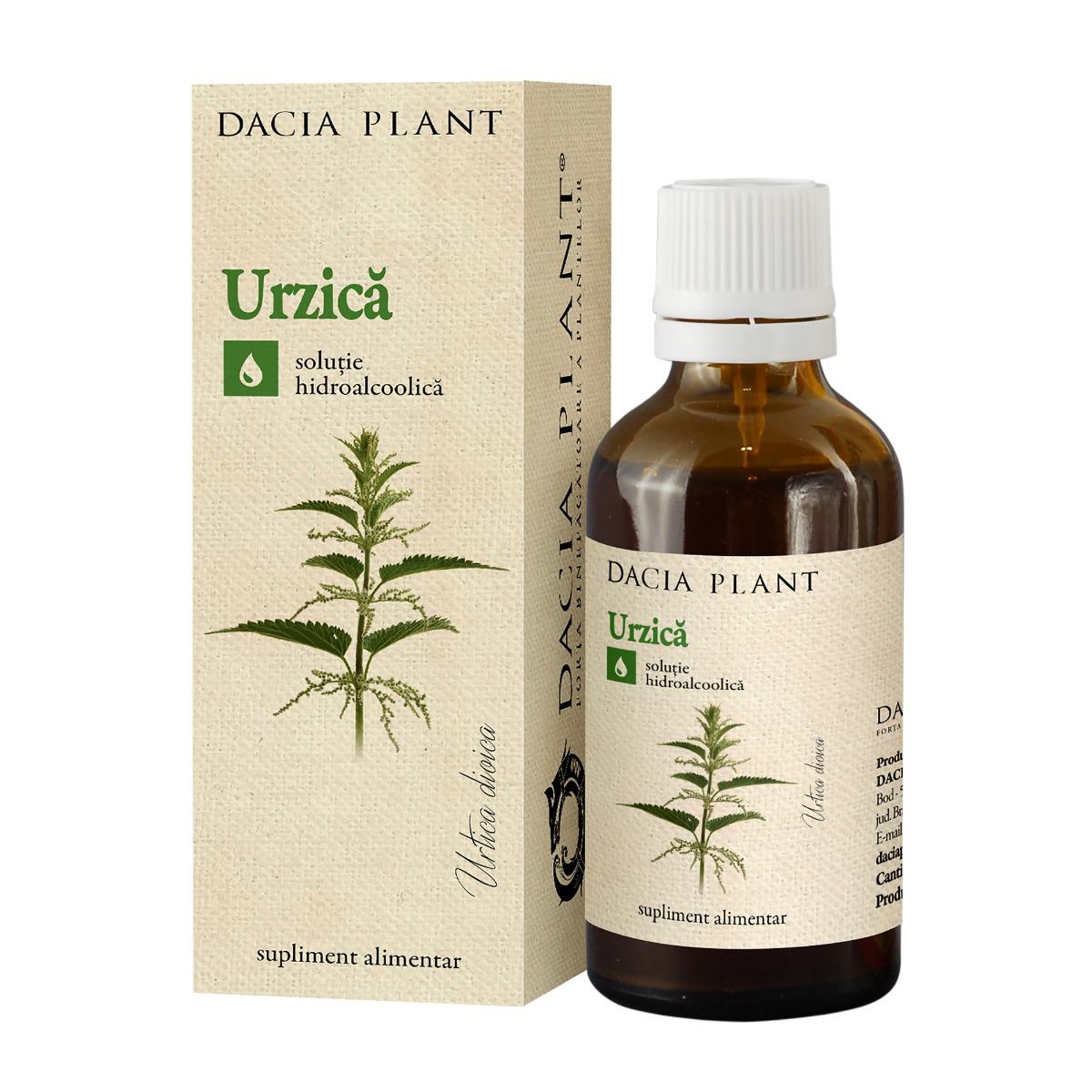 Tinctura de urzica, 50ml, Dacia Plant drmax.ro