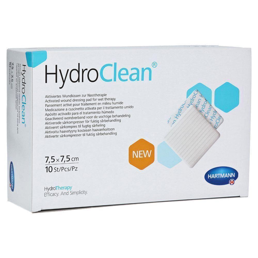 Pansament activat pentru terapia umeda, 7.5x7.5 cm, 10 bucati, Hydroclean Advance drmax poza