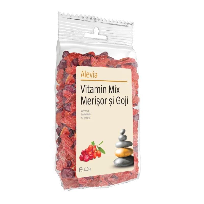 Vitamin Mix cu merisor si goji, 1kg, Alevia