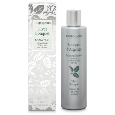 Gel de dus Silver Bouquet, 250ml, L'Erbolario imagine produs 2021