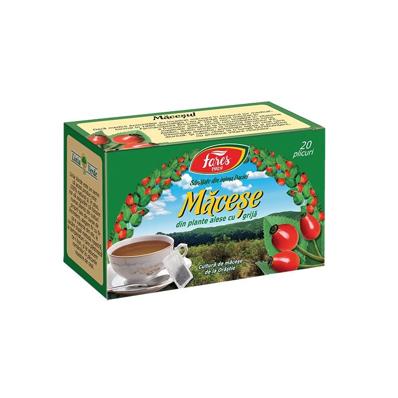 Ceai de Macese, 20 plicuri, Fares drmax.ro