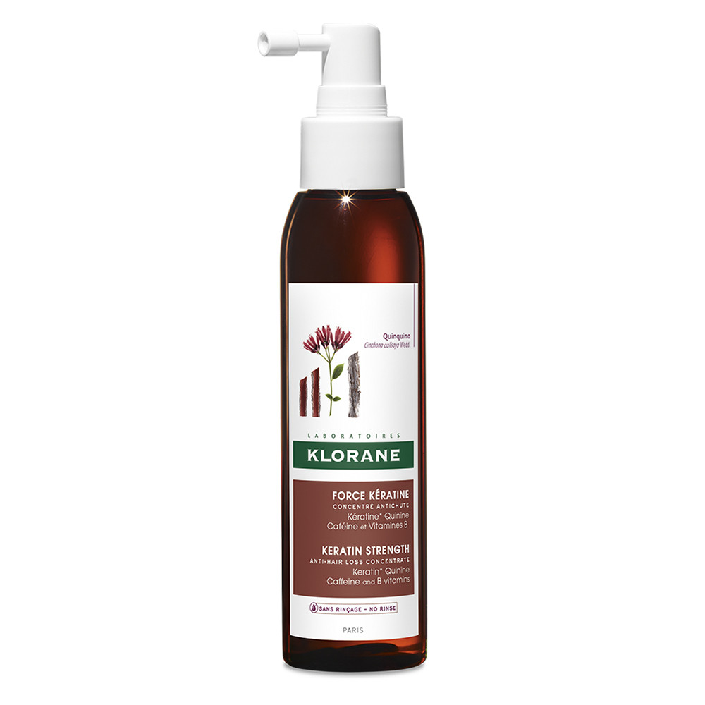 Spray concentrat impotriva caderii parului Force Keratine, 125 ml, Klorane drmax poza
