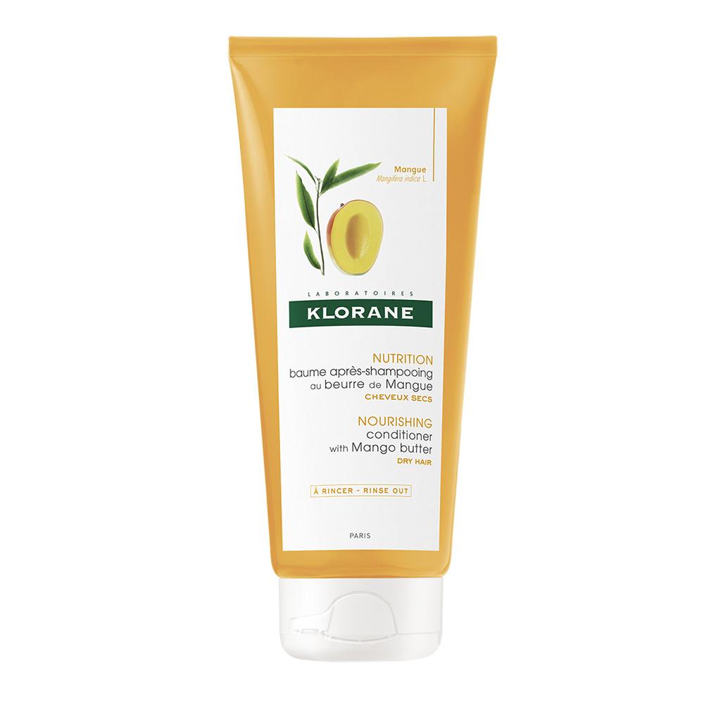 Balsam hranitor cu unt de mango pentru par uscat, 200 ml, Klorane imagine produs 2021