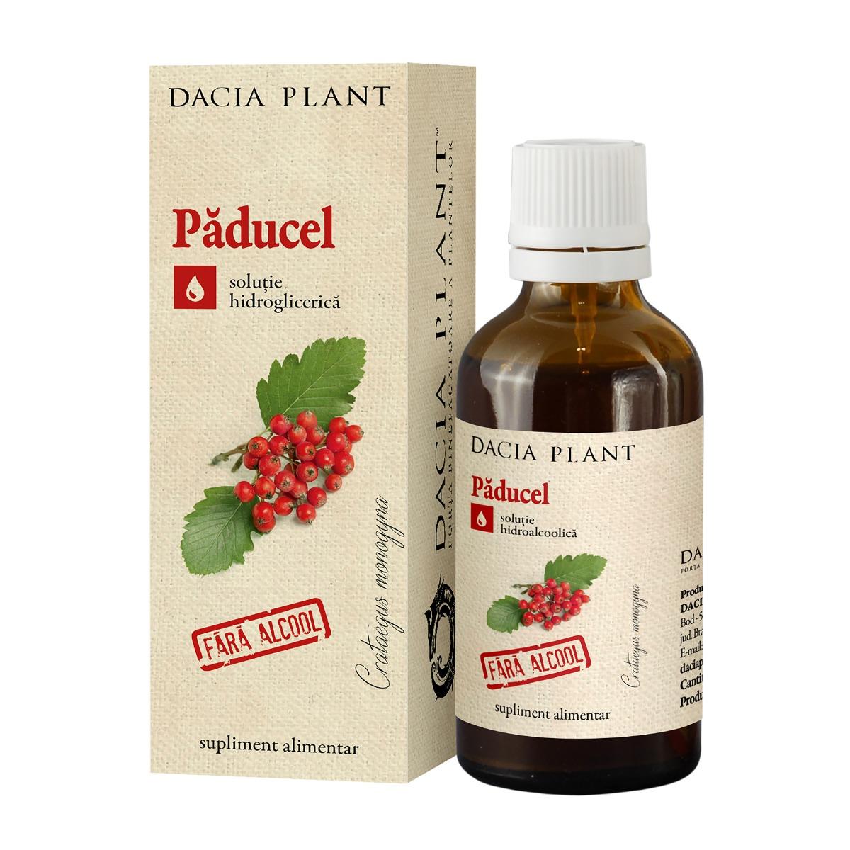 Paducel tinctura fara alcool, 50ml, Dacia Plant drmax.ro