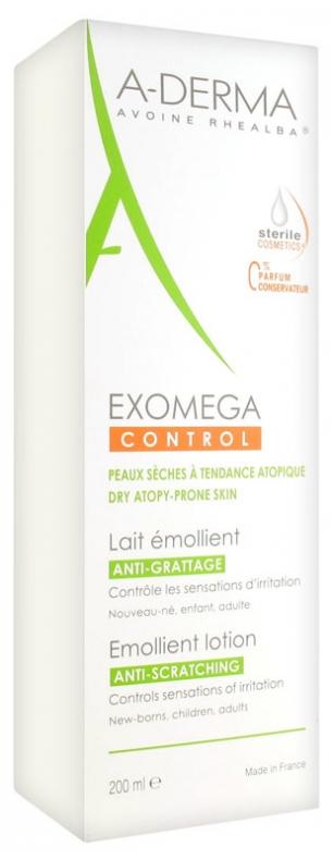 Lapte emolient Exomega Control, 200ml, A-Derma