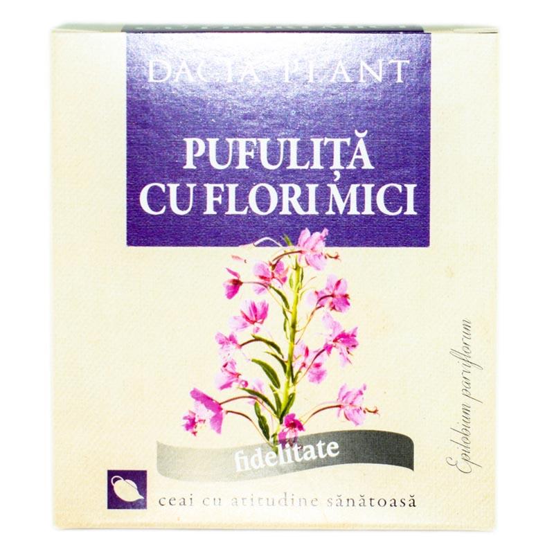 Ceai de pufulita cu flori mici, 50g, Dacia Plant drmax.ro