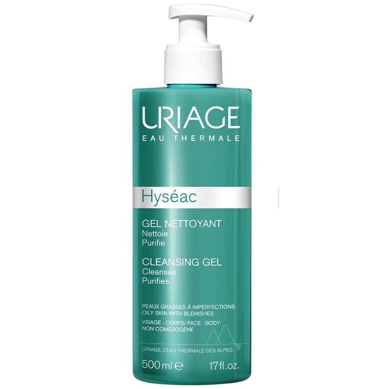 Gel de curatare Hyseac, 500ml, Uriage imagine produs 2021