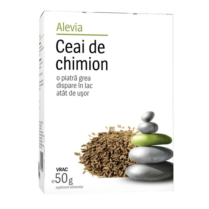 Ceai chimion, 50g, Alevia drmax.ro
