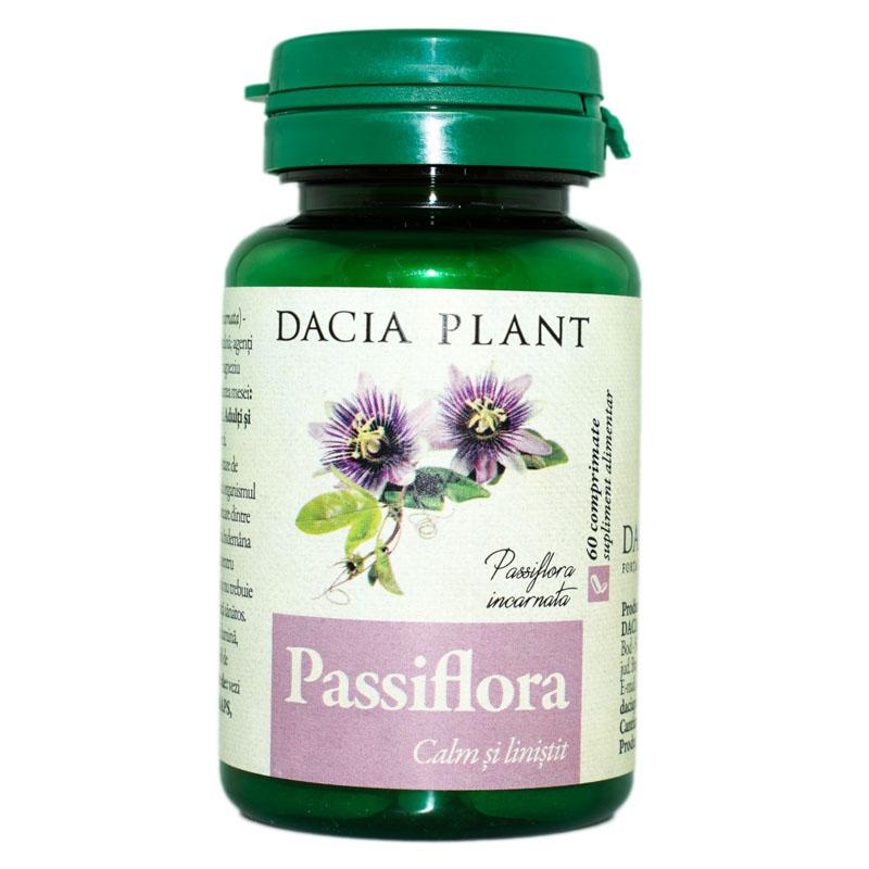 Passiflora, 60 comprimate, Dacia Plant drmax.ro