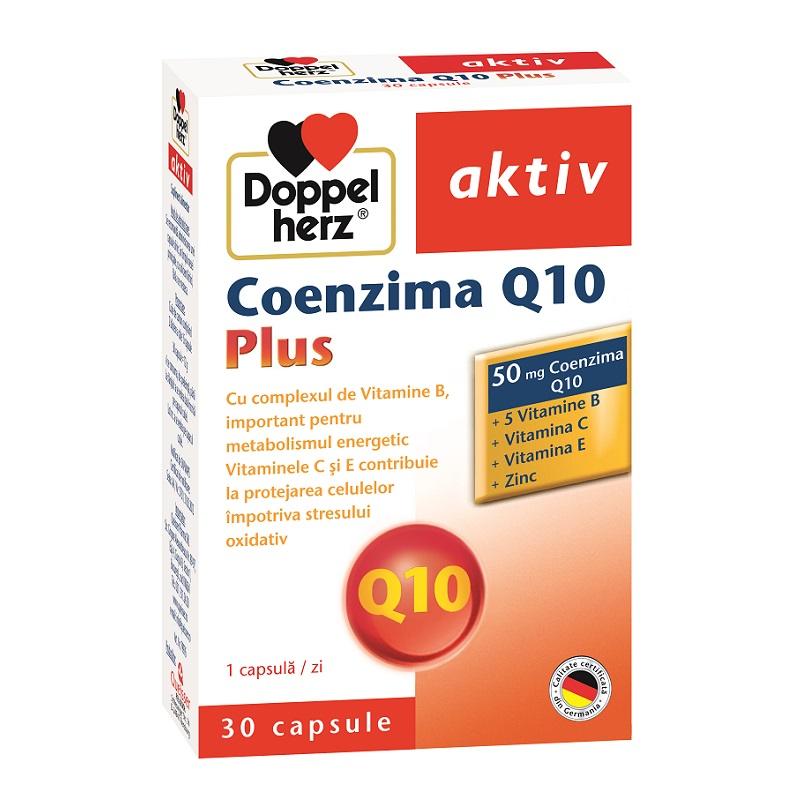 Coenzima Q10 Plus, 30 capsule, Doppelherz imagine produs 2021