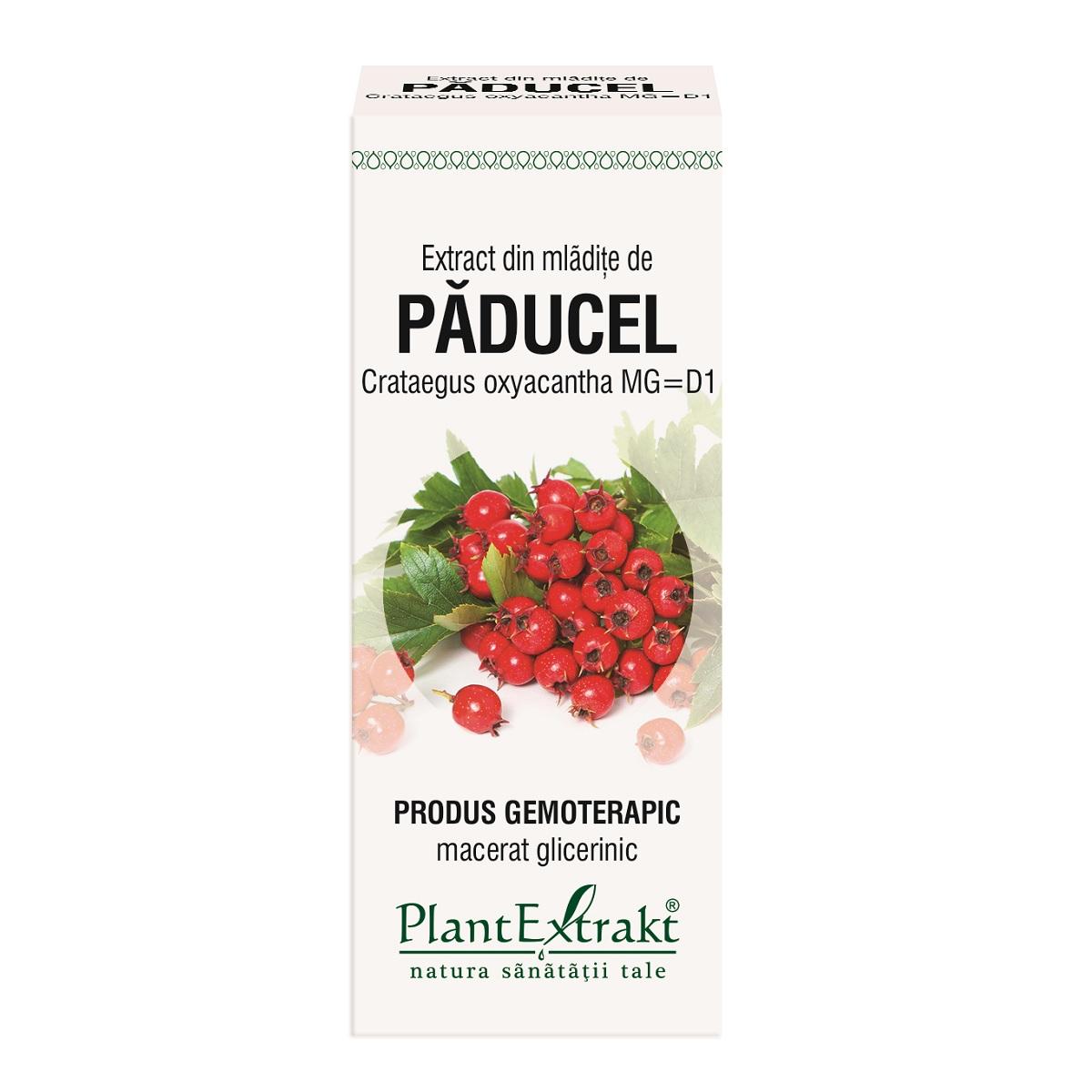 Extract din mladite de paducel, 50ml, Plant Extrakt drmax.ro