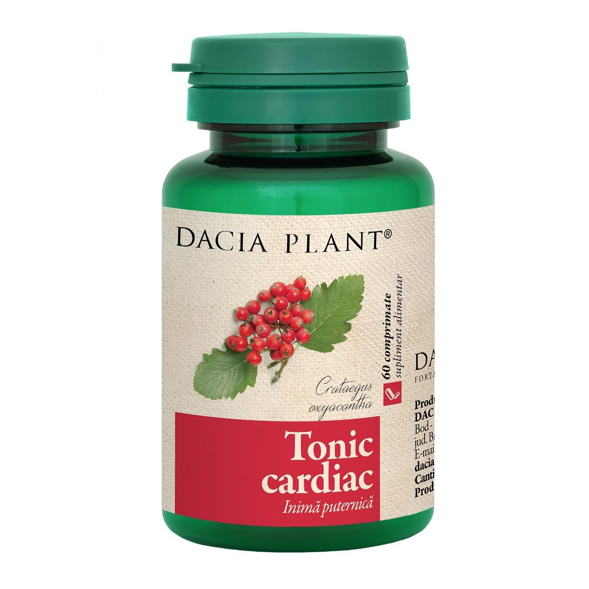 Tonic cardiac, 60 comprimate, Dacia Plant drmax.ro