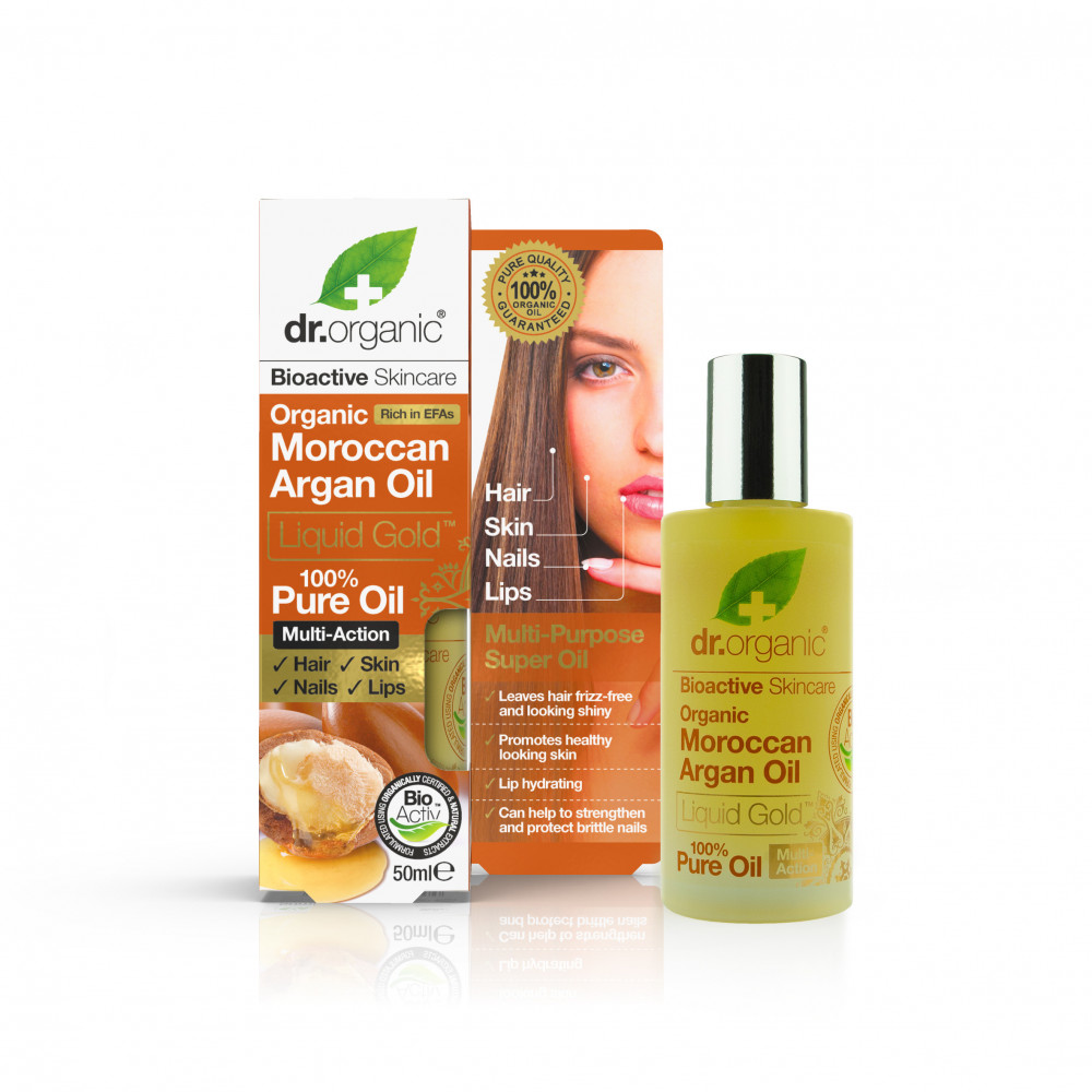 Dr Organic Argan Ulei 100% pur 50ml imagine produs 2021