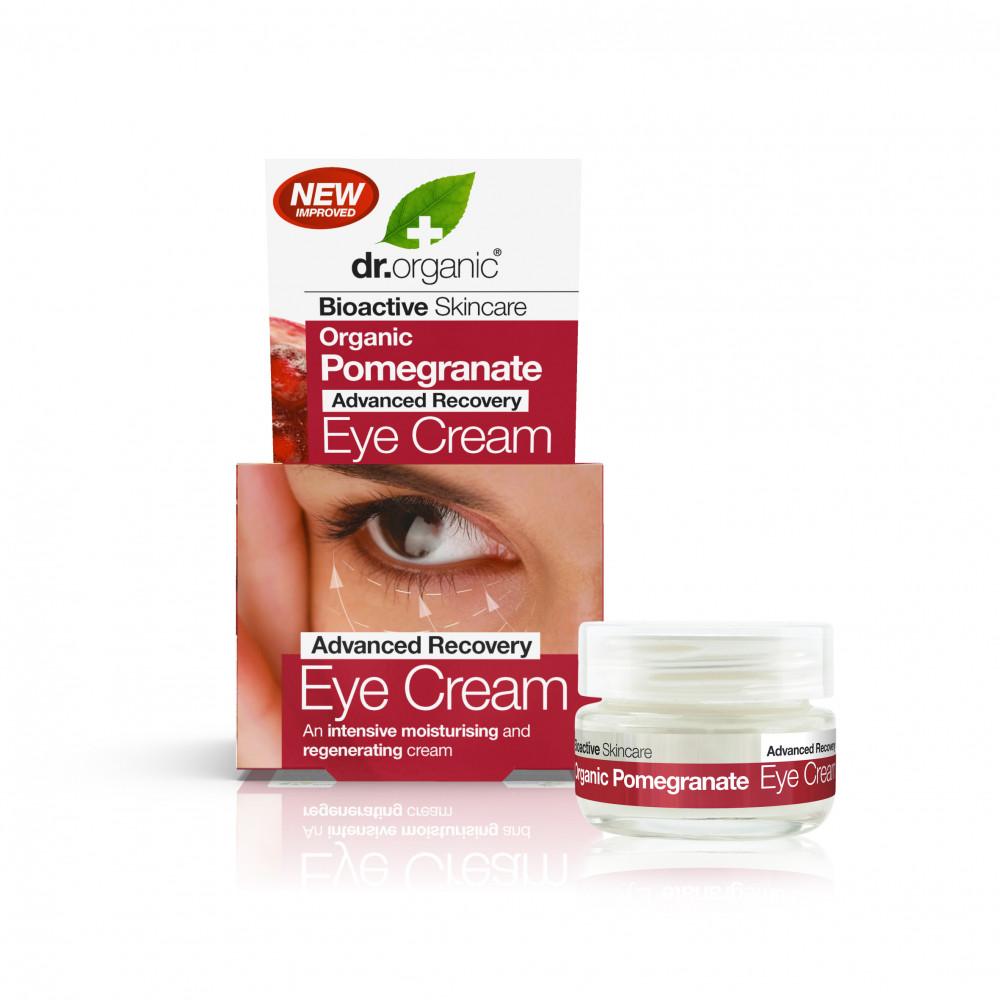 Dr Organic Rodie Crema de ochi 15ml drmax.ro
