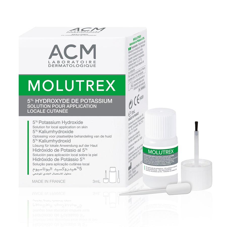 Tratament pentru Molluscum Contagiosum Molutrex, 3 ml, ACM imagine produs 2021