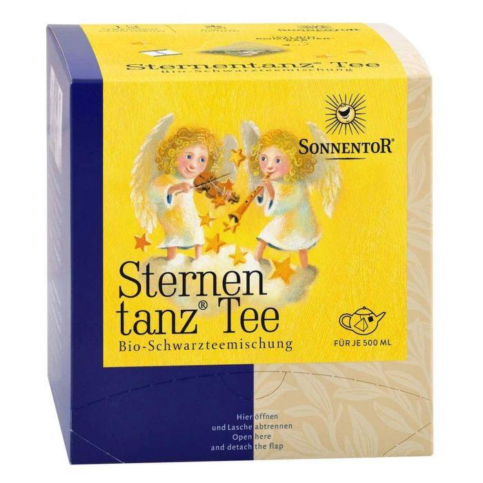 Ceai Bio Premium Dansul Stelelor Ceai Negru, 12 plicuri, Sonnentor drmax.ro