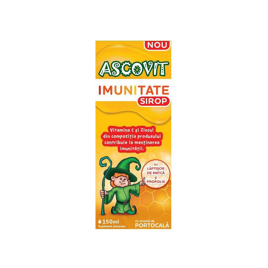 Sirop pentru imunitate Ascovit, 150 ml, Omega Pharma drmax.ro